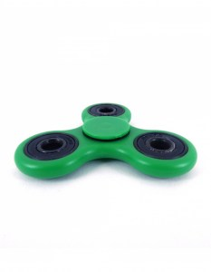 tri-fidget-bearing-green